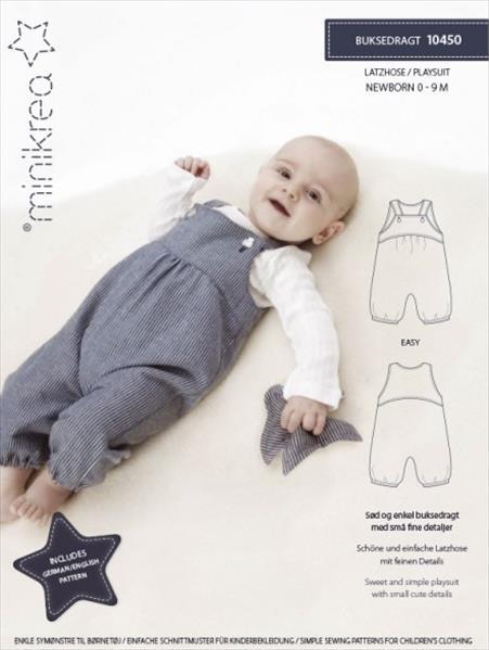 schnittmuster baby latzhose