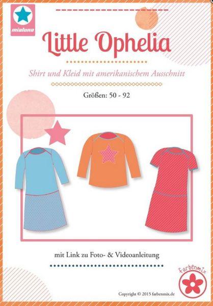 Für die Kleinsten: Baby Little Ophelia Shirt Kleid Farbenmix ...