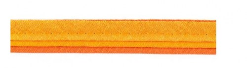Paspelband dreifach orange 14 mm