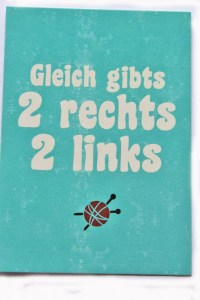 Postkarte 2 rechts 2 links